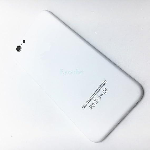 finest selection 92659 87c17 Amazon.com: Eyobue iPhone 6 / 6s / 6s Plus White Body Housing ...