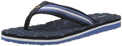 Comfort Low Beach Sandal, Chanclas para Mujer, Azul (Midnight 403), 37 EU Tommy Hilfiger