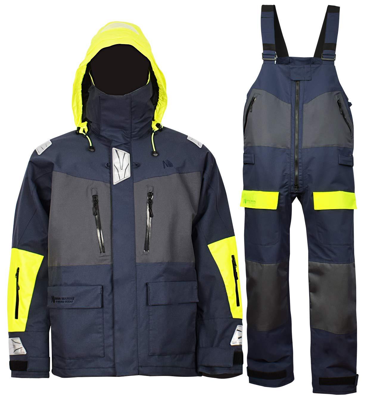【限定セール!】 Navis Jacket Marine釣りRain Suit (5'9