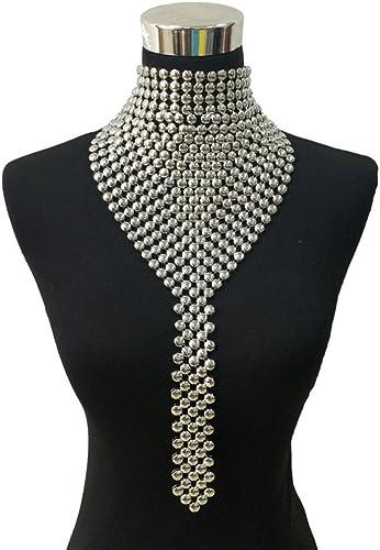 Fashion Women Pearl Choker Collar Statement Necklace Long Pendant Jewelry Gift