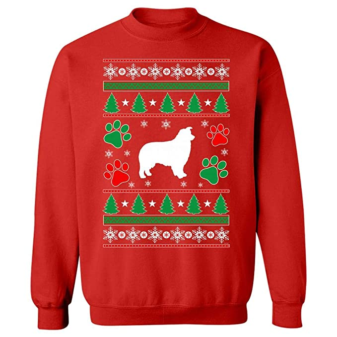 Australian Shepherd Christmas Ugly Sweater Dog Gift