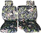60 40 split camo seat covers - A57 Toyota Pickup Front 60/40 Split Bench Camo Camouflage Seat Covers, Custom Made for Exact Fit 1990 - 1995