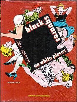 Book Black Squares on White Pieces