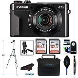 Canon PowerShot G7 X Mark II Digital Camera with Wi-Fi and 4.2X Optical Zoom (Black) + Pixibytes Pro Bundle