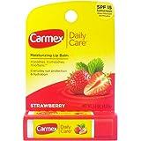Carmex Daily Care Moisturizing Lip Balm, Strawberry, 0.15 oz