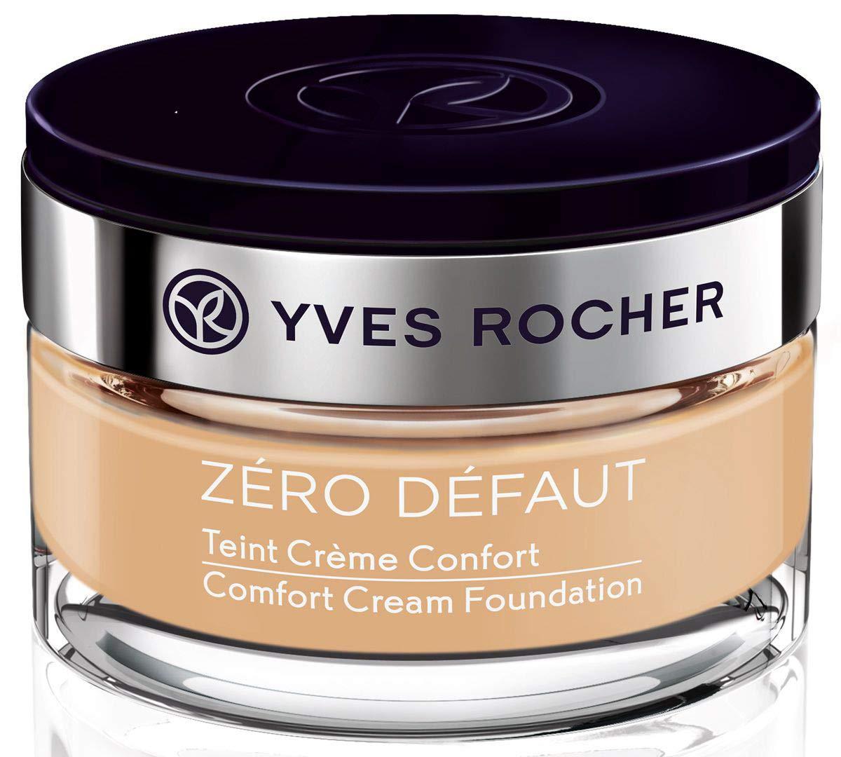 Yves Rocher Couleurs Nature Zero defaut Comfort Cream Foundation, 40 ml./1.35 fl.oz. (Beige 100)