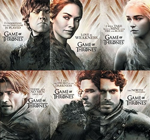 Game Of Thrones Season Two 2 6 Card Gallery Chase Insert Set At