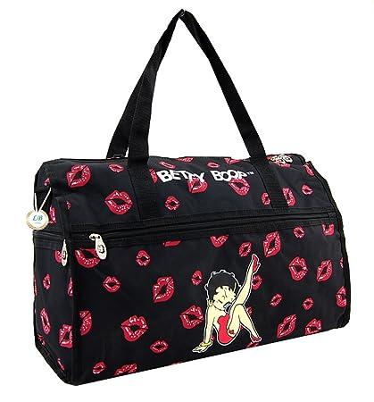 Amazon.com: Betty Boop - Bolsa de viaje (microfibra, tamaño ...