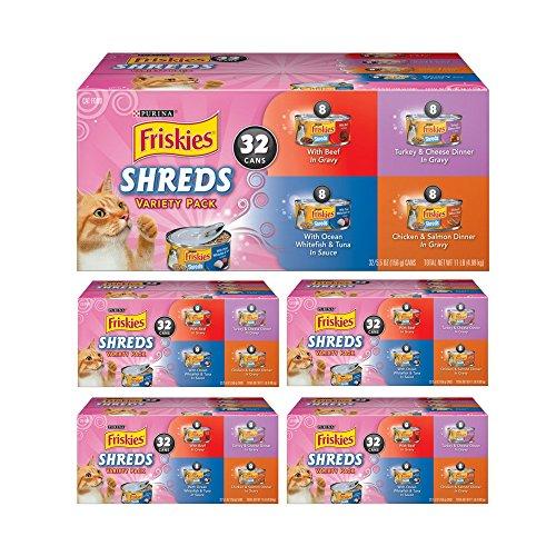 Purina Friskies Savory Shreds Adult Wet Cat Food Variety Pack (Variety Pack 5) by Purina Friskies