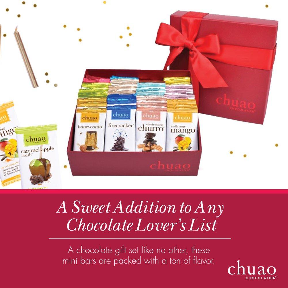 Chuao Chocolatier Share the Love Chocopod Gift Set - Mini Chocolate Bars  (36-pack)