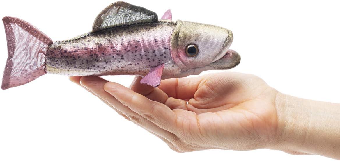 Folkmanis Mini Rainbow Trout Finger Puppet