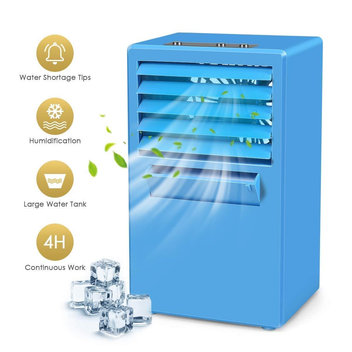 Mini Refrigerador Portátil De Aire Acondicionado Ventilador ...