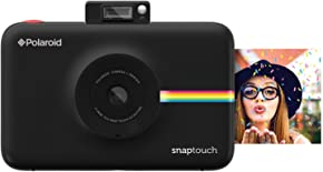 Polaroid Snap Touch Portable Instant Print Digital Camera with LCD Touchscreen Display (Black)