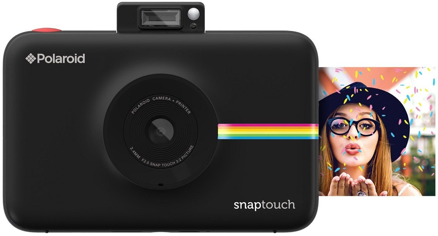 Polaroid Snap Touch Portable Instant Print Digital Camera with LCD Touchscreen Display (Black) by Polaroid