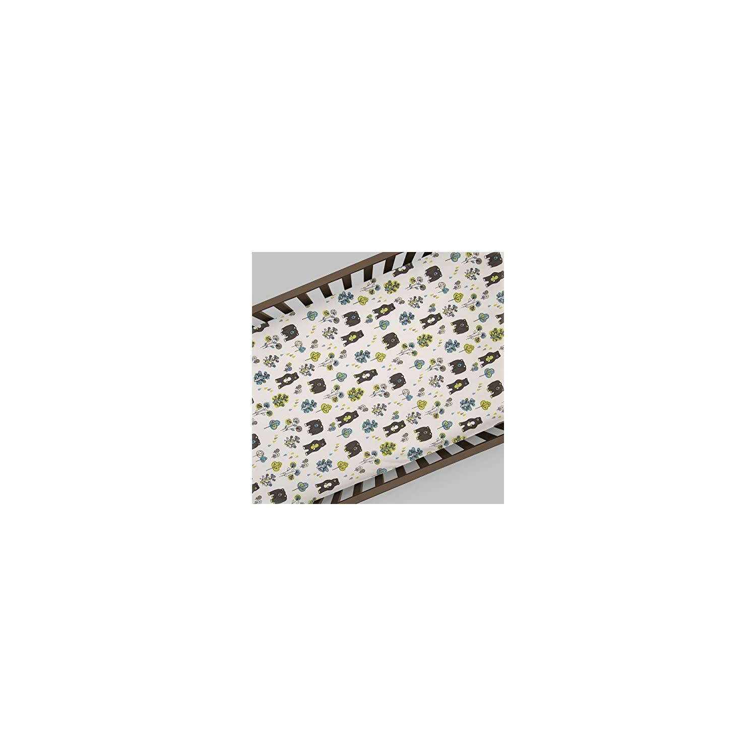 Glenna Jean North Country Fitted Sheet, Bear