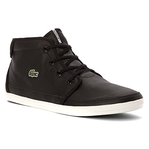 da294542a237 Lacoste Women s Ziane Chukka BLW High Top Black Black sneakers-and-athletic-