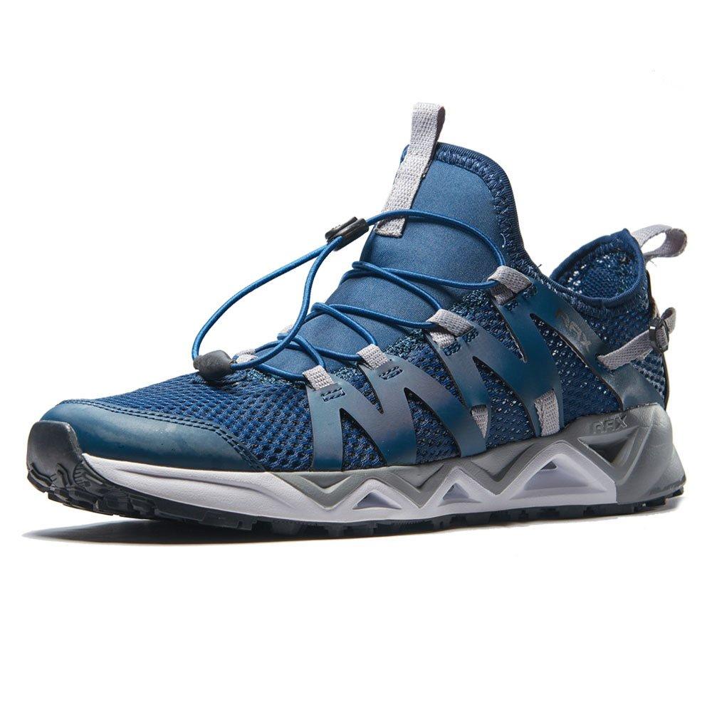 RAX Men's Quick Drying Slip-Resistent Aqua Water Hiking Shoes(10 US) by RAX