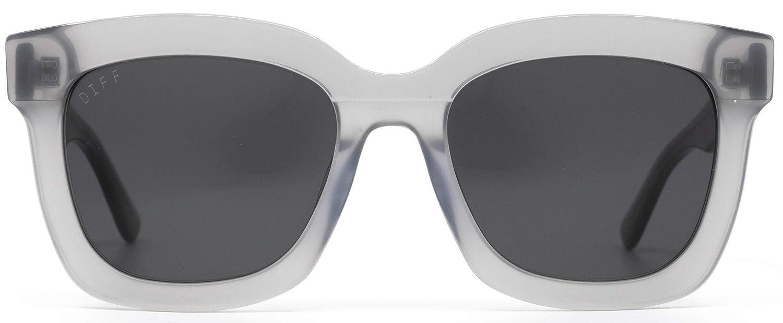 Carson Diff Eyewear 100/% UVA//UVB Designer Square Sunglasses