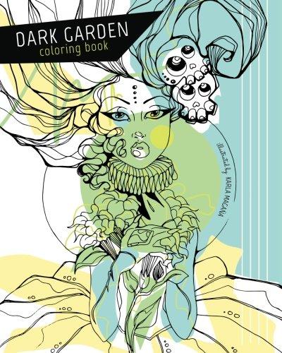 Dark Garden Coloring Book