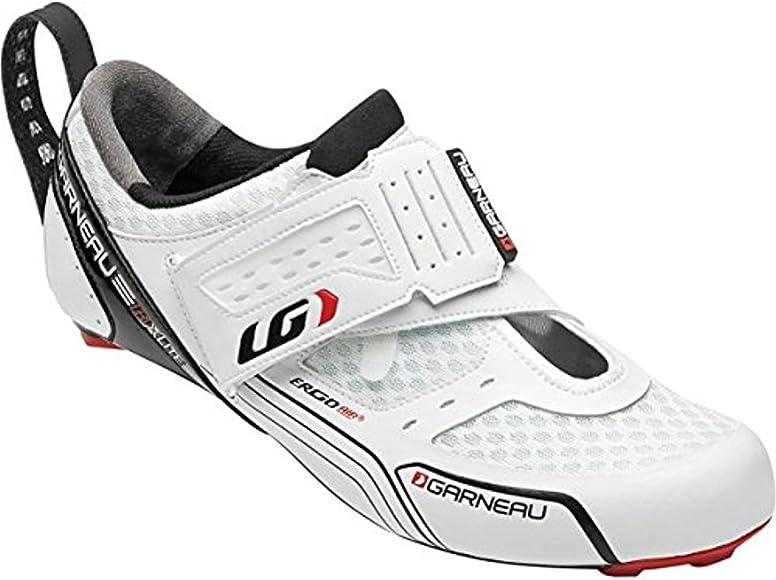Louis Garneau - Zapatillas de ciclismo para hombre Blanco Weiß: Amazon.es: Deportes y aire libre