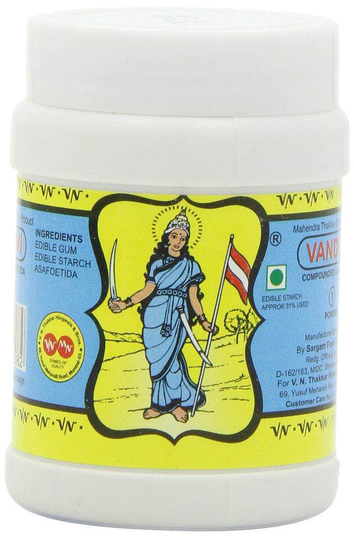 Vandevi Hing (Compounded Asafoetida), 3.5-Ounces Units (Pack of 5)