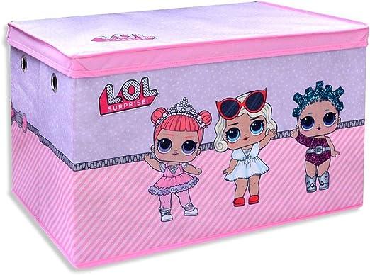 LOL Surprise - Caja para Juguetes (55 x 37 cm, con Tapa): Amazon.es: Juguetes y juegos
