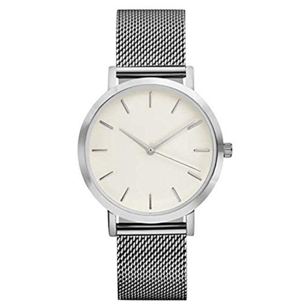 時計、baomabaoレディースカジュアルクリスタルステンレススチールアナログクオーツ腕時計ブレスレットSL B01NCOBVUN
