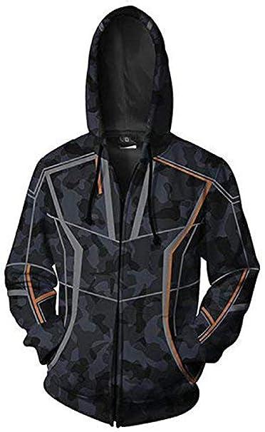 Amazon.com: Chaqueta con capucha para hombre, diseño de los ...
