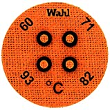 Wahl Instruments 443-060C Round Mini Four Position IC Batch/Vacuum Chamber Temp-Plate, 60, 71, 82 and 93 degrees C (Pack of 10)