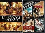 Epic Adventure Kingdom of Heavens + Troy / Alexander / Clash of the Titans / Antony & Cleopatra 5 movie dvd bundle
