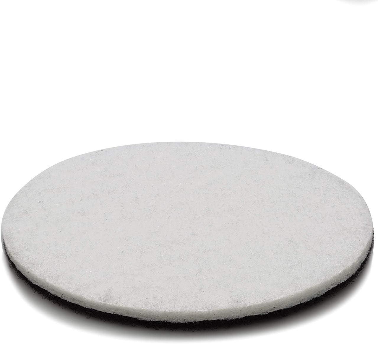 m/étal Plastique marbre Verre 50/mm en Velours Envers Feutre de Polissage Lot de 5/disques Une Prise suppl/émentaire pour Polissage Glass Polish 5,1/cm