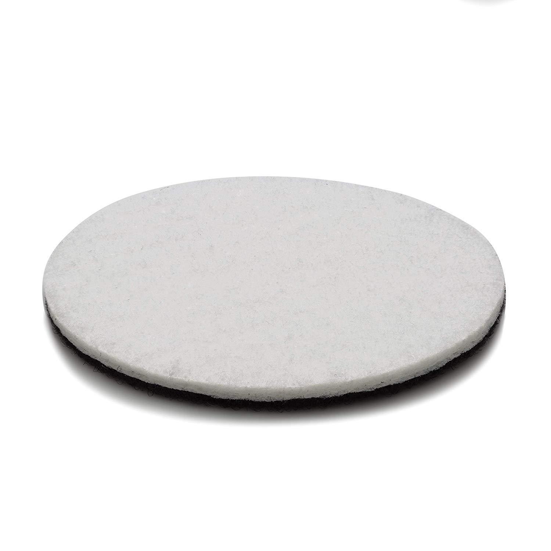 plastique marbre m/étal verre en velours Envers feutre de polissage une prise suppl/émentaire pour polissage 125/mm 12,7/cm Lot de 5/disques