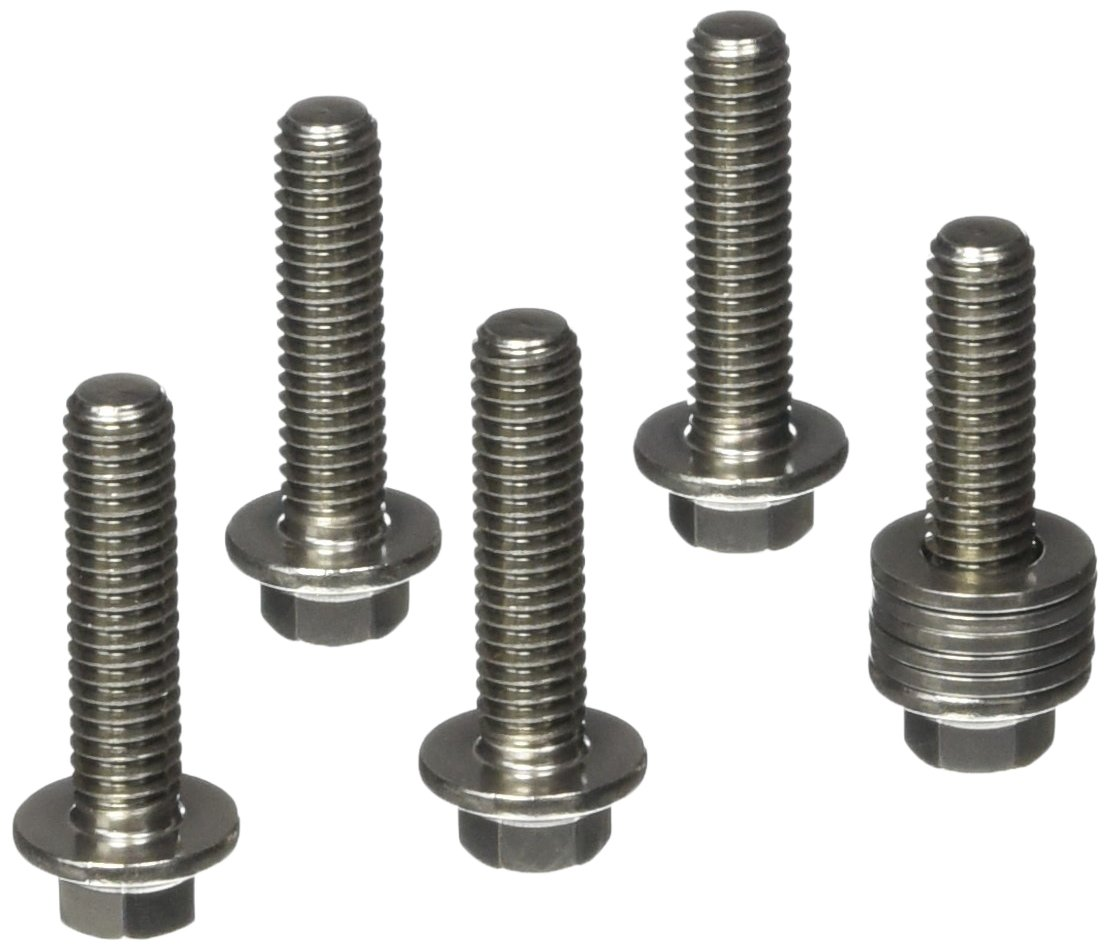ARP 6221250 5-Pack Of Stainless Steel Hex Bolts, Size 5/16-18, 1.250 Under Head Length 622-1250