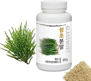 [Medicinal Herbal Powder] Prince Natural Glasswort (Samphire/Salicornia) Powder/프린스 함초분말, 3.0oz / 85g (Glasswort/함초)