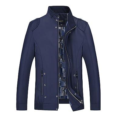 BBSMYA Vêtement Blouson pour Homme parka veste jacket manche longue  printemps Outwear casual confortable e20409efcb08