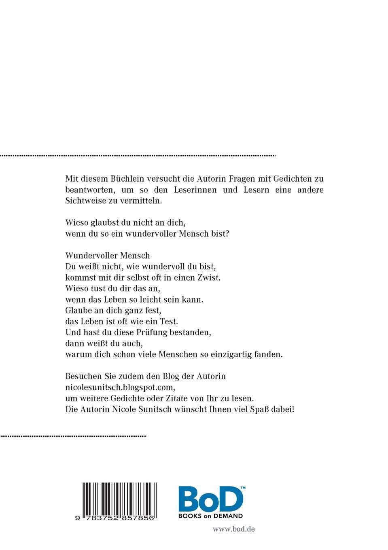 Denke Positiv Gedichte Gedichte Und Kurzgeschichten Die Von
