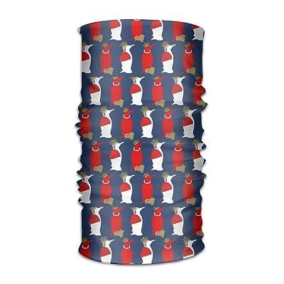 Unisex Funny Penguin Pattern Multifunctional Bandanas Sweatband Elastic Turban Headwear Headscarf Beanie Kerchief