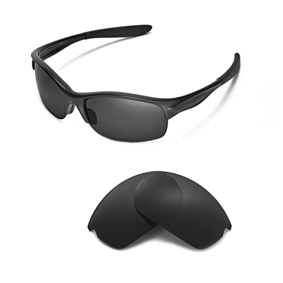 003c2fd2173 Walleva Replacement Lenses Oakley Commit SQ Sunglasses - Multiple options  (Black - Polarized)  Amazon.co.uk  Clothing
