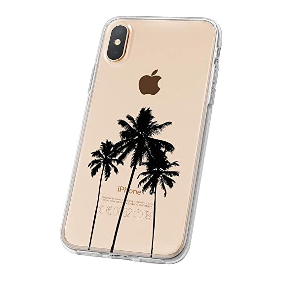 iphone xs case palm tree