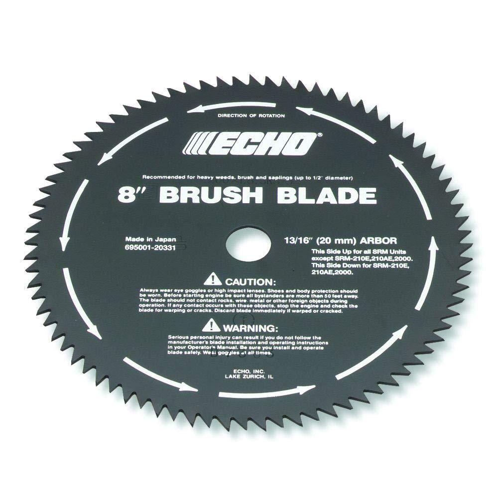 Brush Cutter Blade, 8 in  Dia