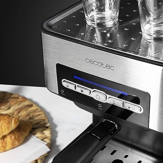 Cecotec Power Espresso 20 Matic Cafetera, Presión 20 Bares, 1,5L ...
