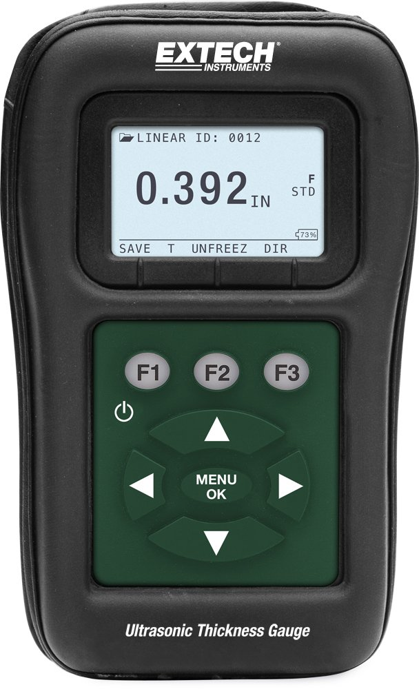 Extech TKG150 Digital Ultrasonic Thickness Gauge Datalogger