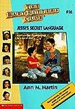 Jessi's Secret Language (Baby-sitters Club)