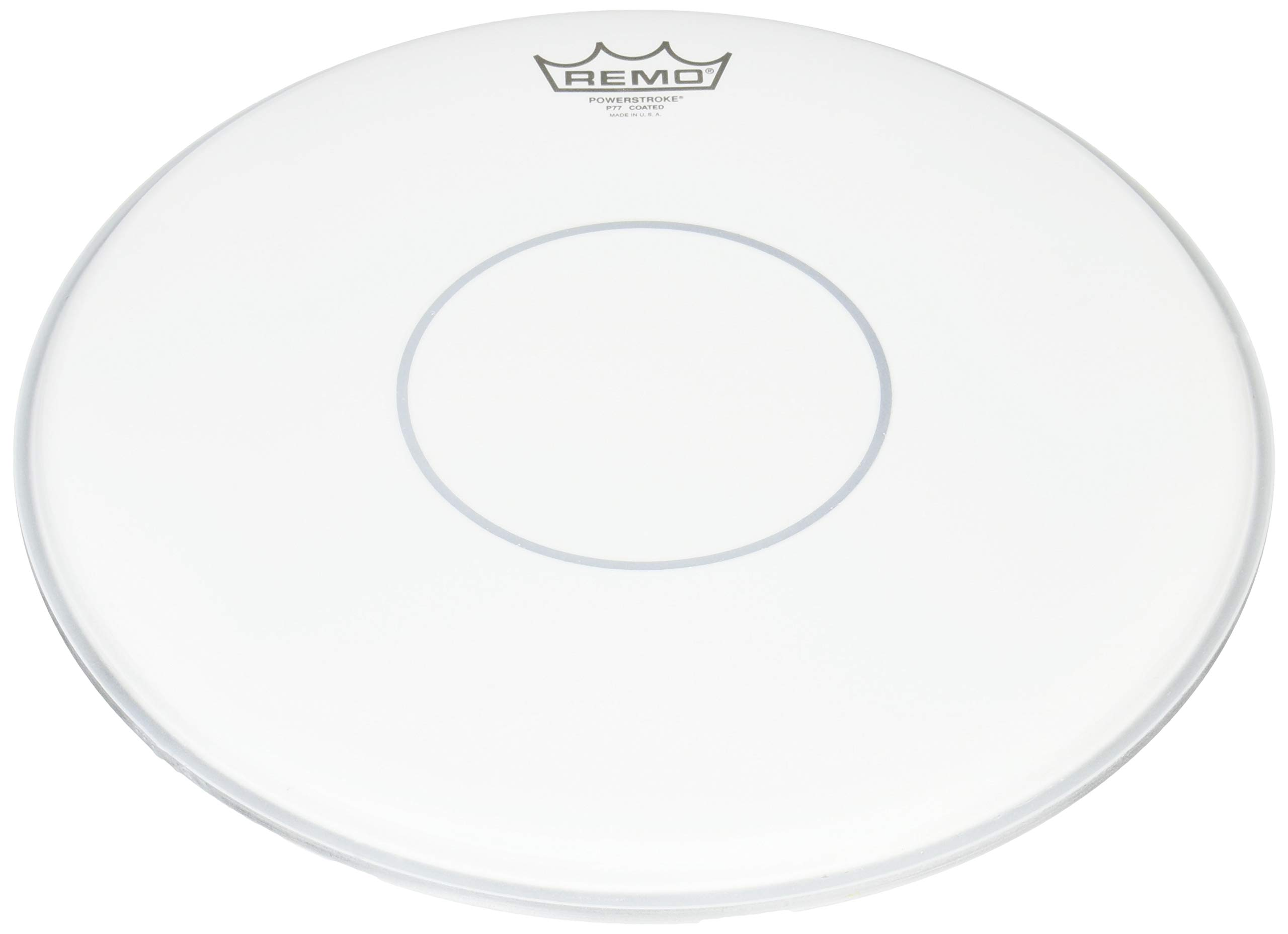 """Other Powerstroke 77 Coated Snare Drumhead-Top Clear Dot, 14"""" (P70114-C2-U)"""