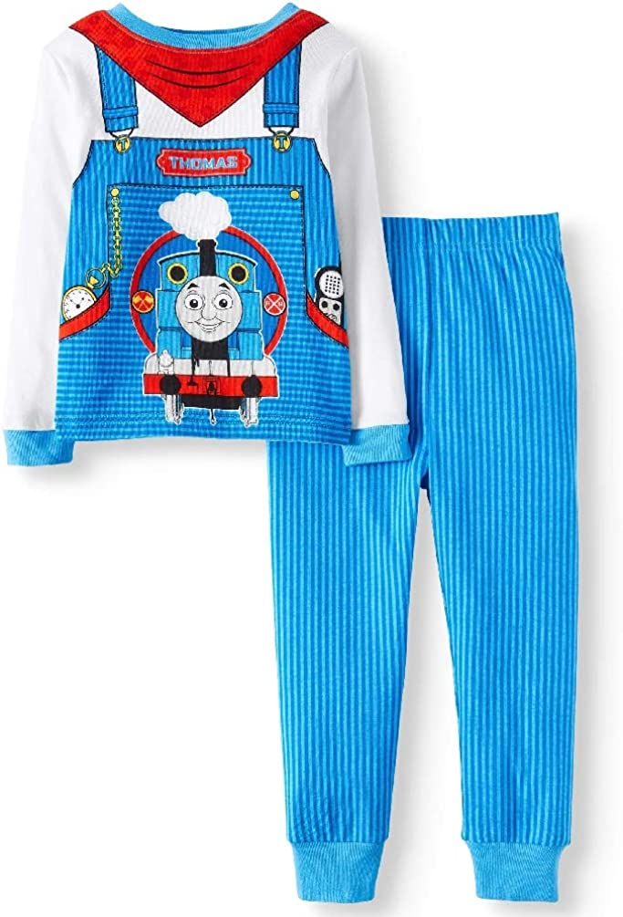 Choo Choo Train Little Boys Toddler 2 Piece Pajama Set