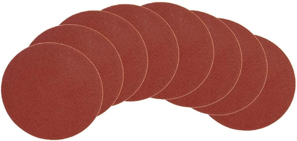 Disc Sandpaper 12 inch 80 Grit Adhesive Backed Sanding Discs Power Tool 4 Pack