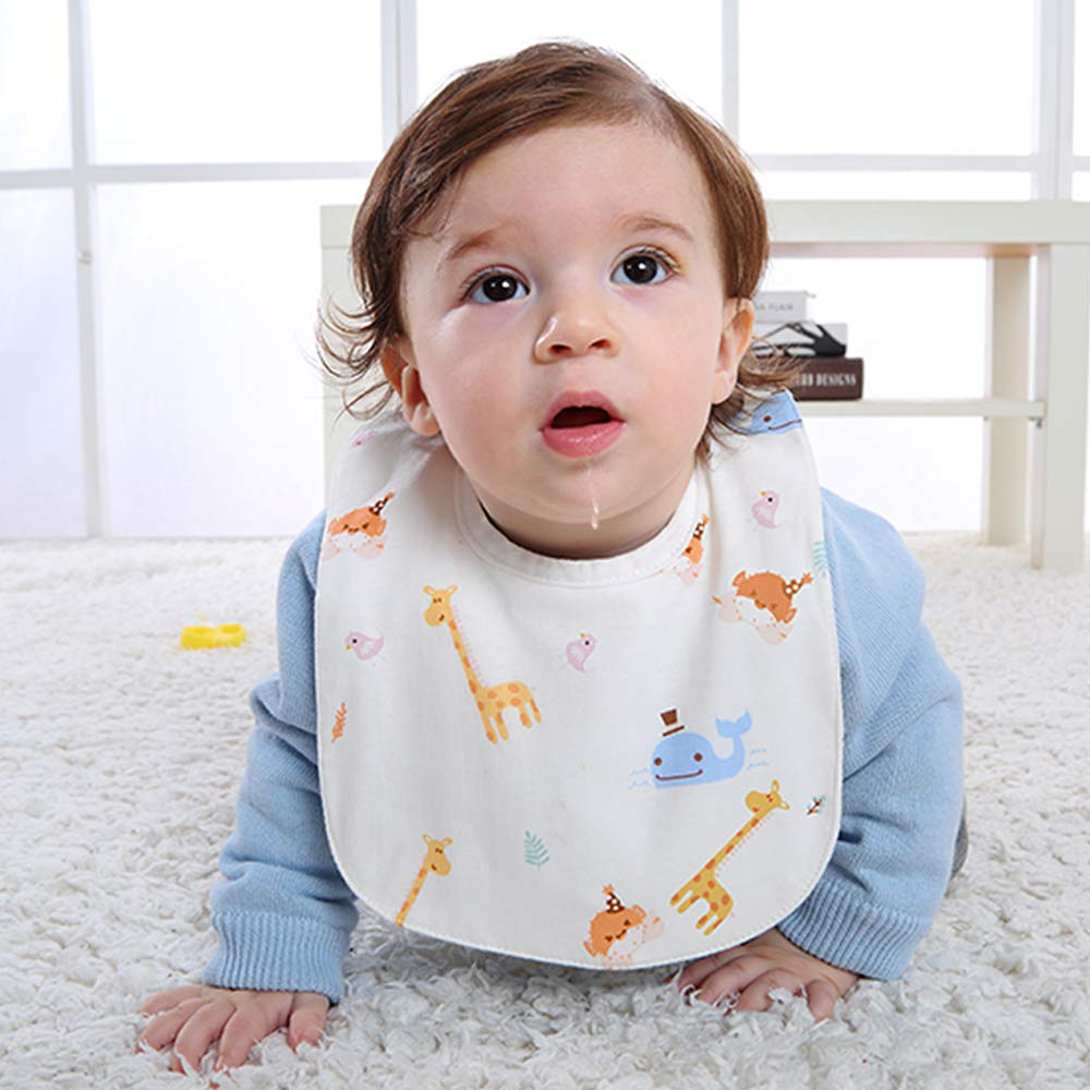 4 Pack Machine washable. Single guide wet Black technology for baby gifts Drooling and Teething Bandana Bibs Soft and super absorbent Gudodle Organic Cotton baby bibs