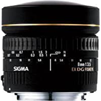 Deals on Sigma 8mm f/3.5 EX DG Circular Fisheye Auto Focus Lens for Nikon