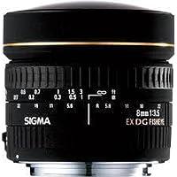Sigma 8mm f/3.5 EX DG Circular Fisheye Auto Focus Lens for Nikon Deals