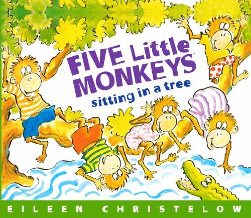 Five Little Monkeys Sitting In A Tree (Turtleback School & Library Binding Edition)